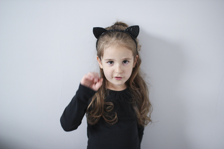 halloween cat kid