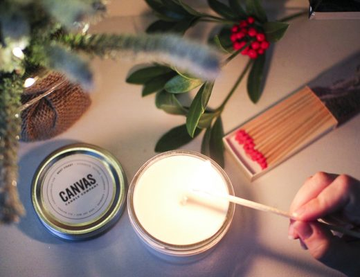 canvas candles