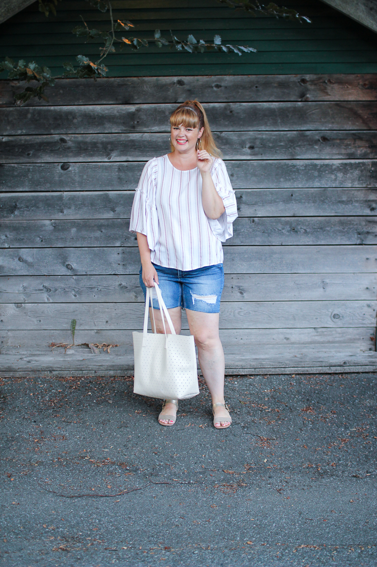 summer plus size outfit